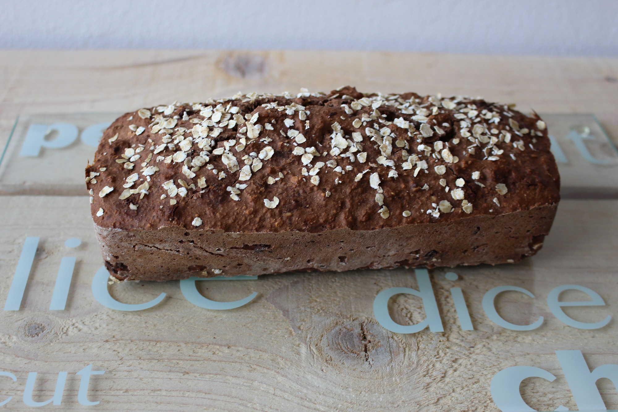 Chocolade havermoutbreak (V, F, Fe)