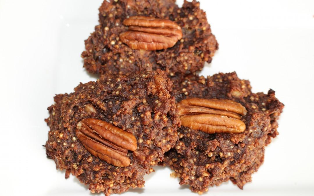 Quinoa-pecannotensnack (V, V*, F, E, Fe, GL)