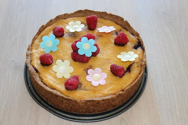 Vegan vanille cheesecake (V, V*)