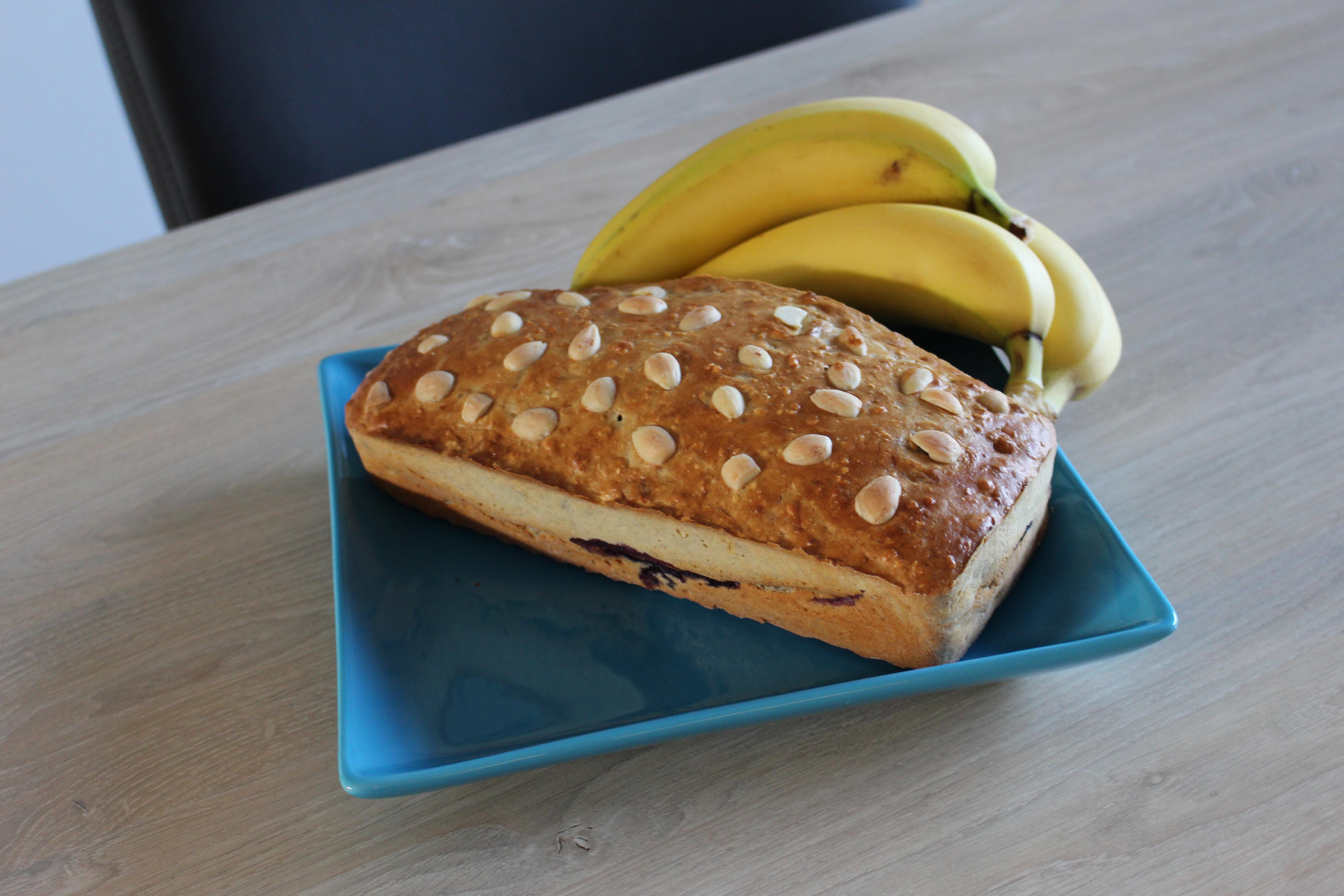 Bananenbrood de luxe (V, F)