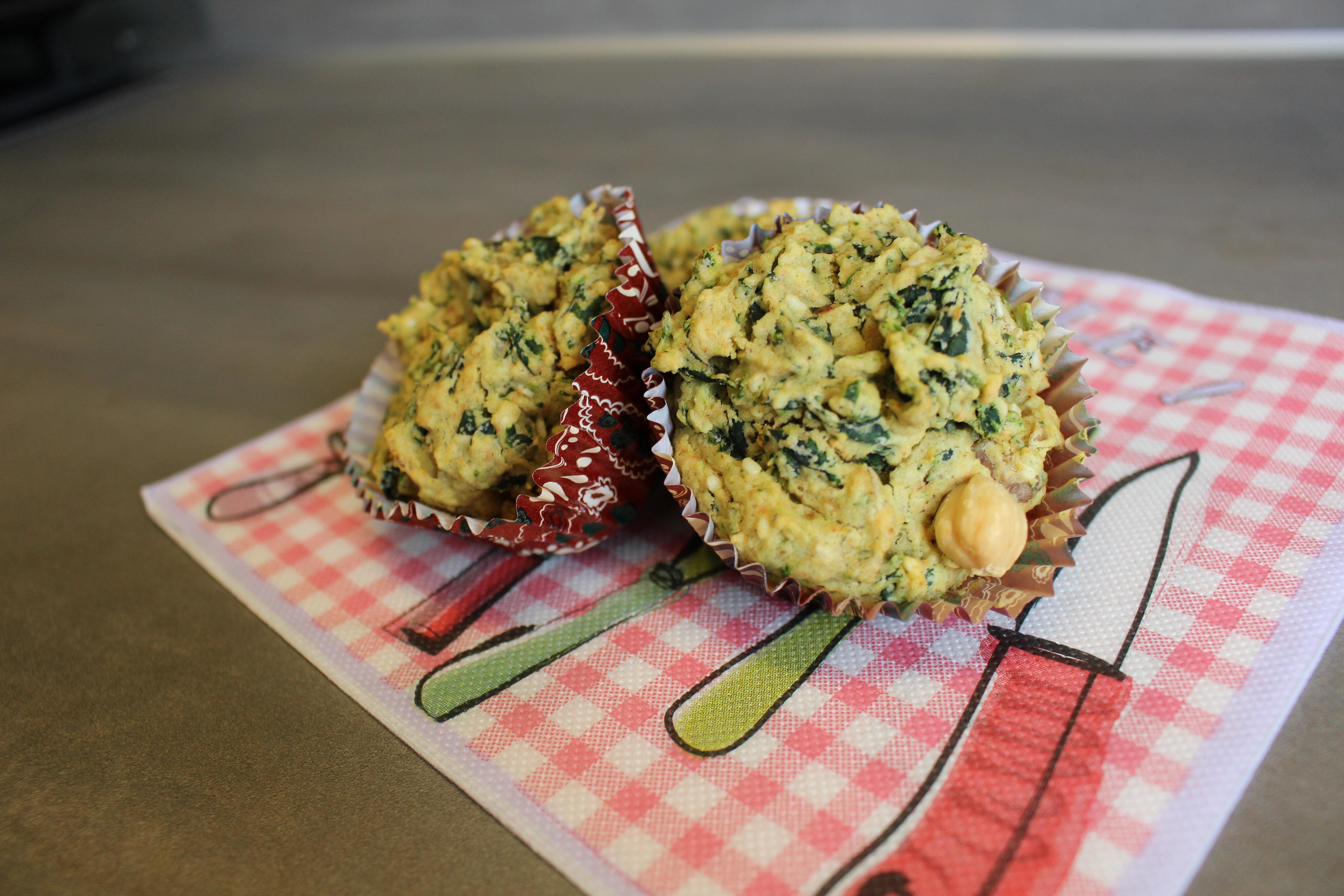 Hartige kip curry muffins (V, V*, E, Gl)