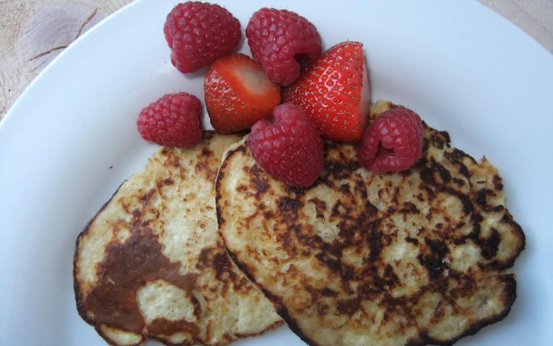 Kaneel-kwark pancakes (F, E)