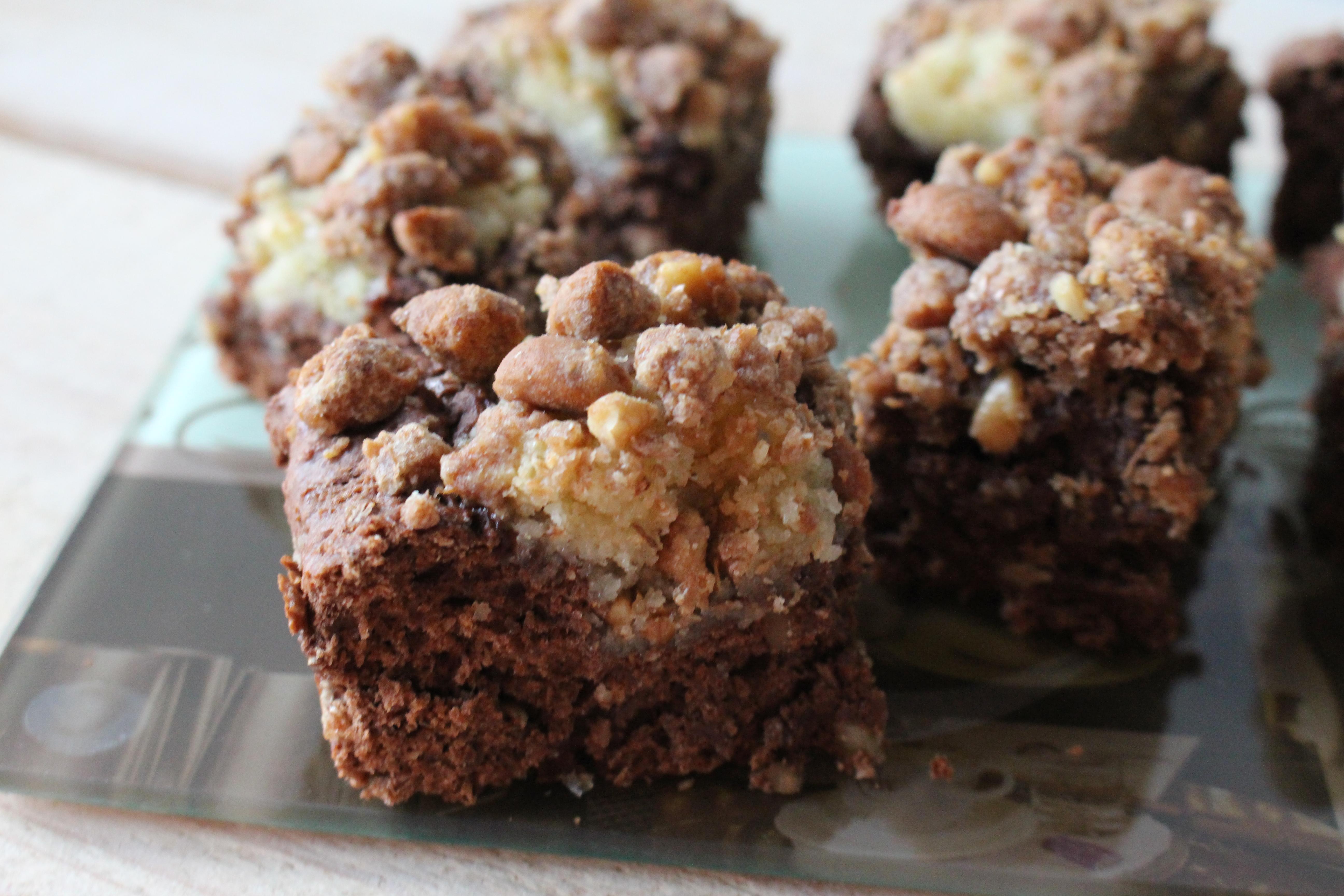Gevulde Sint brownies (V)