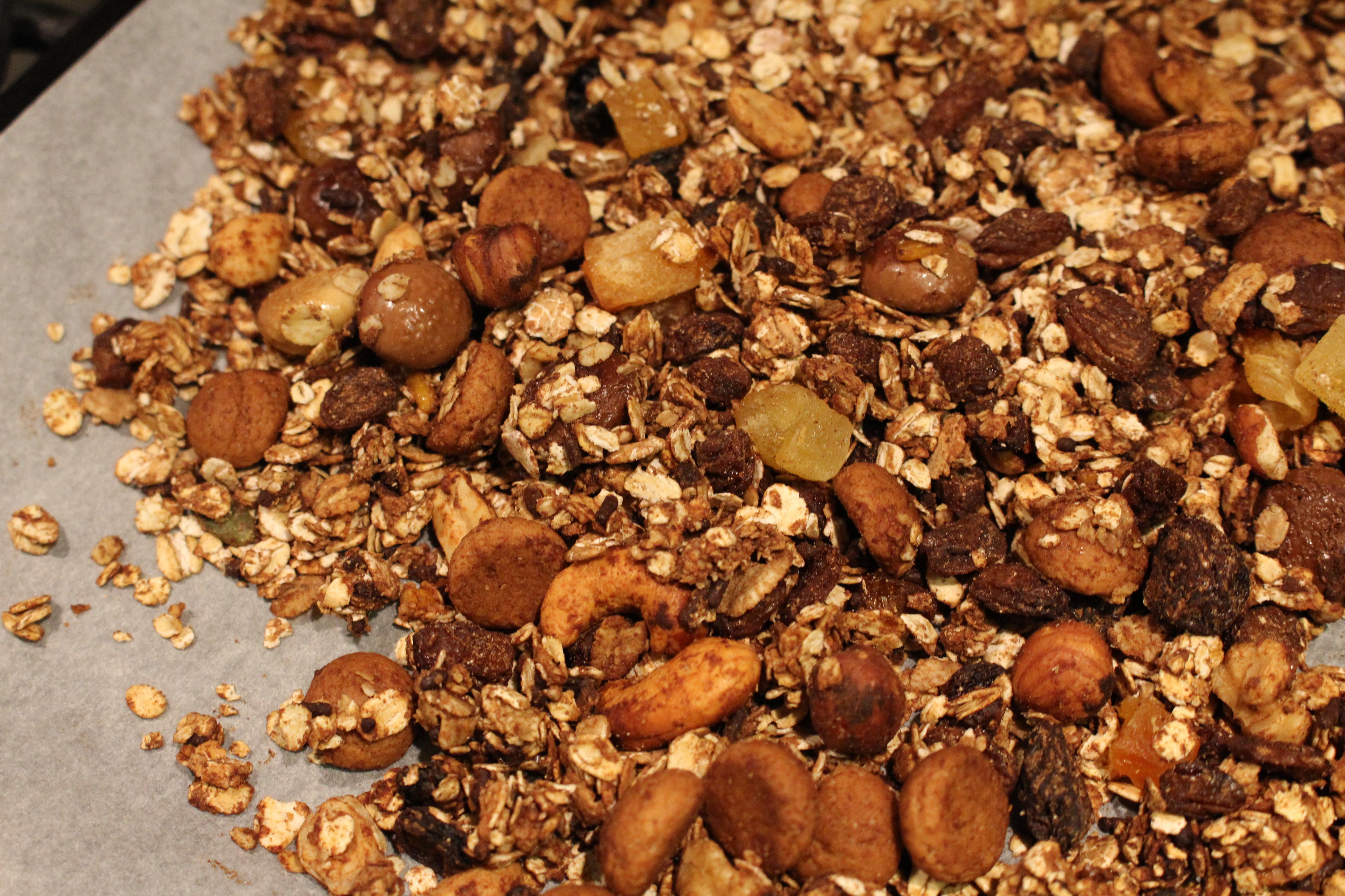 Pepernoten granola (V)
