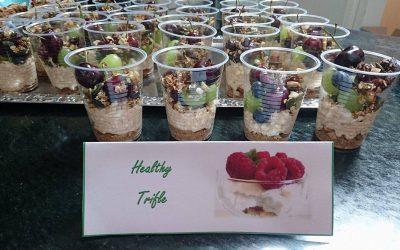 Fit met een plantaardig eetpatroon