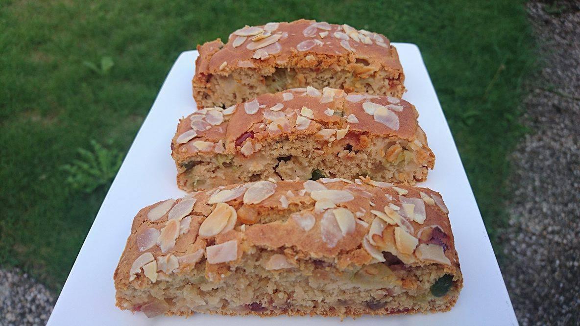 Gezonde Vanille Kruisbessencake (V, Vegan)