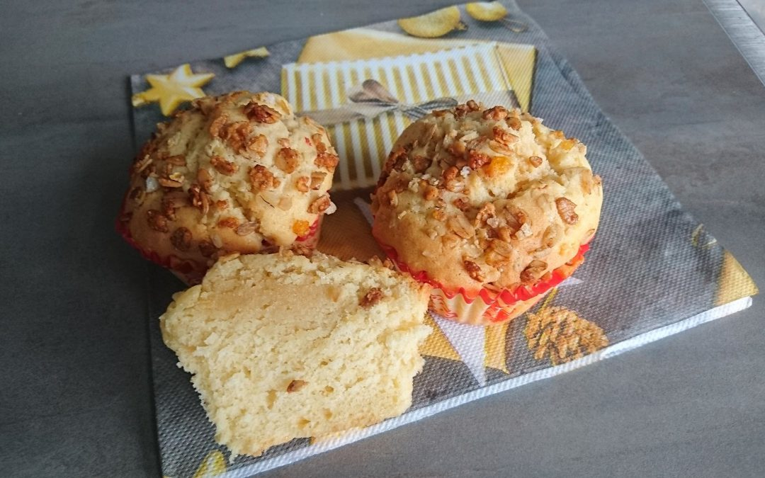 Amaretto-amandelspijscake of -muffins